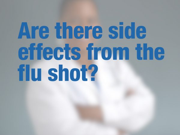 Are there side effects from the flu shot? 1