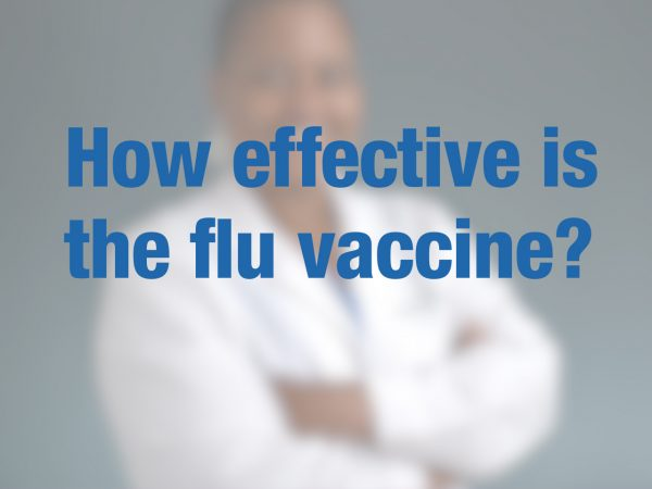 How effective is the flu vaccine? 1