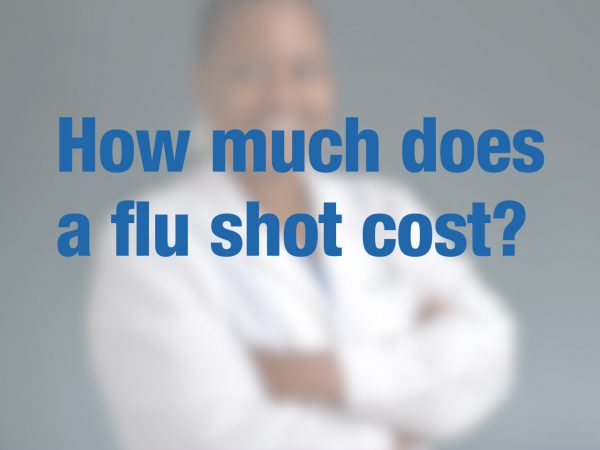 How much does a flu shot cost? 1