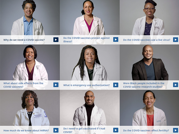 THE CONVERSATION - Black Health Care Workers - FAQ Videos