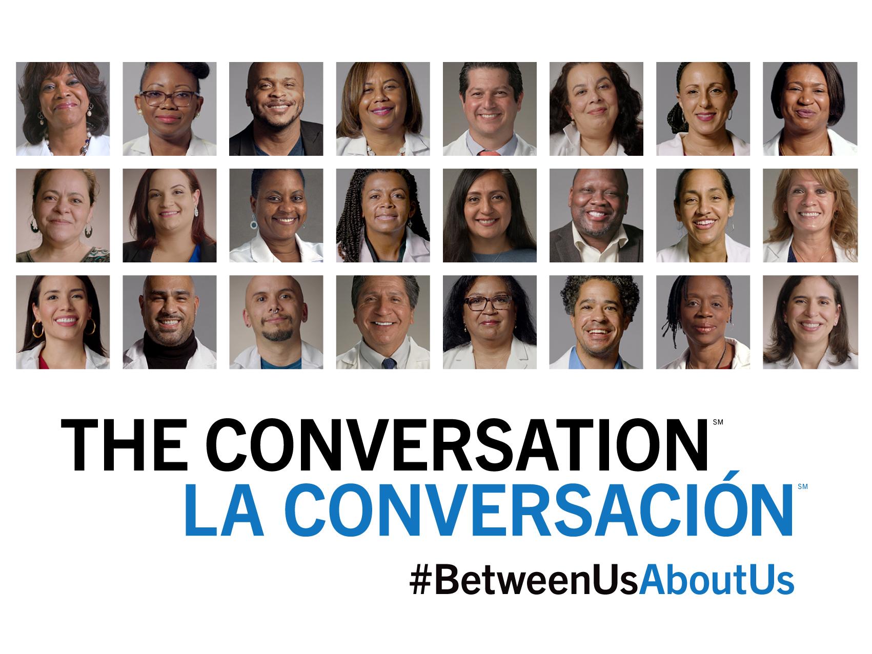 THE CONVERSATION/LA CONVERSACIÓN #BetweenUsAboutUs - All Health Care Workers