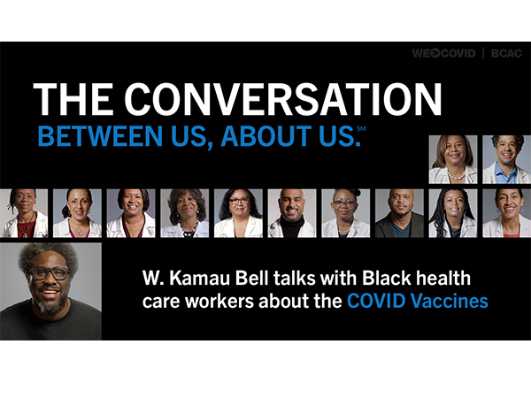 THE CONVERSATION - W. Kamau Bell talks with Black health care workers about the COVID Vaccines - Anchor Video