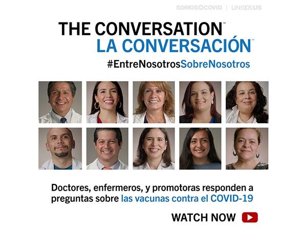 THE CONVERSATION/LA CONVERSACIÓN #EntreNosotrosSobreNosotros - Latinx Health Care Workers - Spanish Static Graphics
