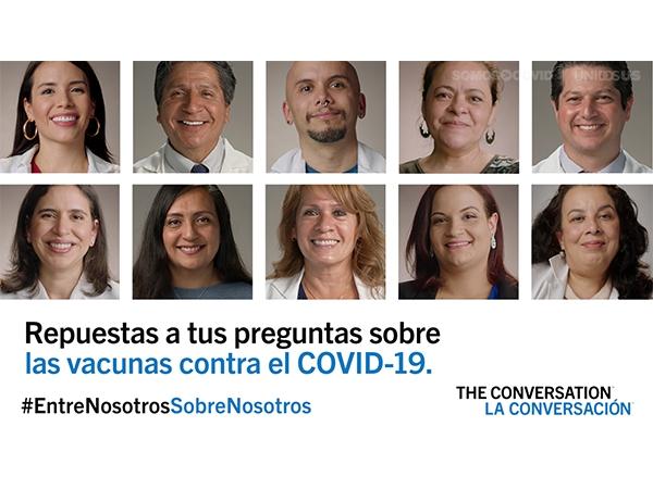 THE CONVERSATION/LA CONVERSACIÓN - Repuestas a tus preguntas sobre las vacunas contra el COVID-19 - Anchor Video