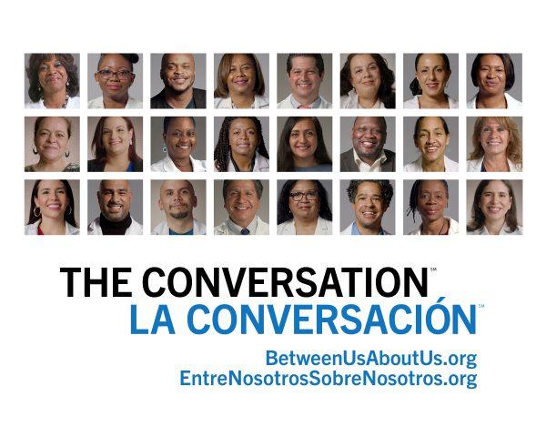 THE CONVERSATION/LA CONVERSACIÓN - All Health Care Workers - Static & Motion Graphics
