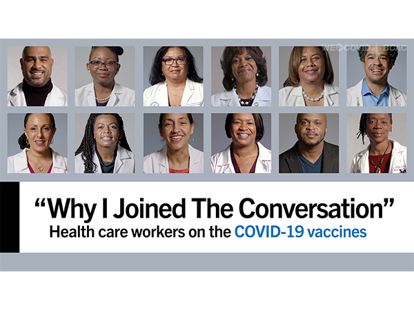 Why I joined THE CONVERSATION - Black Health Care Workers on the COVID-19 Vaccines Video
