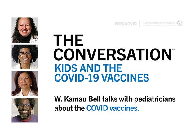 W. Kamau Bell with Pediatricians