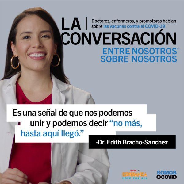 Dr. Edith Bracho-Sanchez Quote