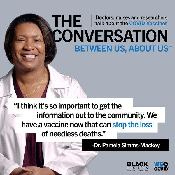 Dr. Pamela Simms-Mackey Quote 1